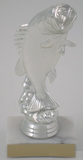 Large Mouth Bass Trophy, Silver-Trophies-Schoppy's Since 1921
