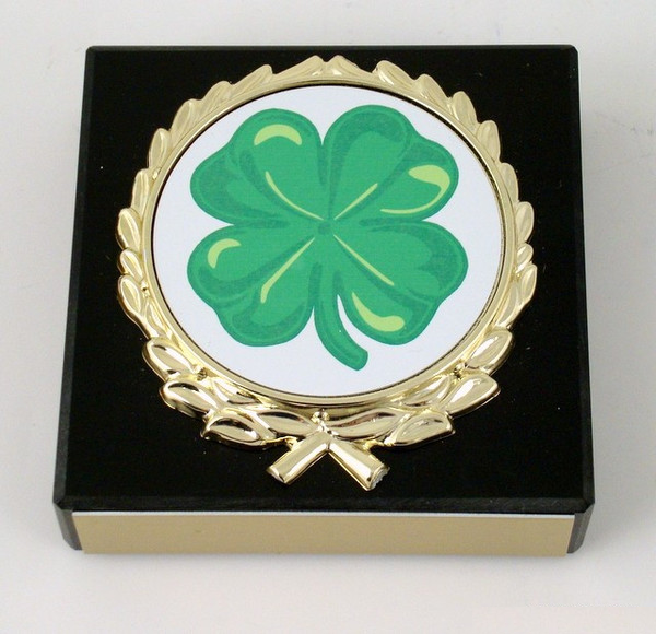 St. Patrick's Day Logo Paperweight-Paperweight-Schoppy's Since 1921