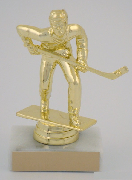 Street Hockey Figure on Marble Base 23F-8628SH
