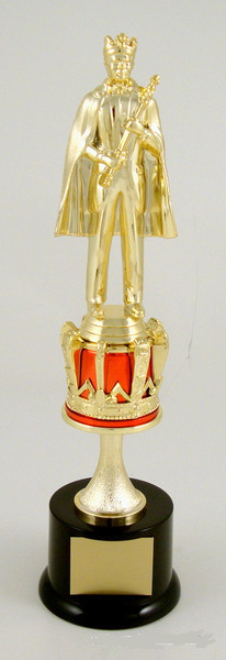 King Trophy with Crown Riser