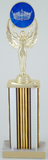 Achievement Trophy with Full Color Crown - Large-Trophies-Schoppy's Since 1921