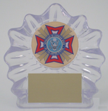 VFW Acrylic Trophy-Trophies-Schoppy's Since 1921