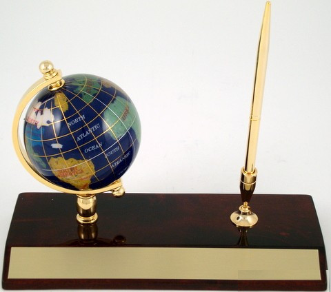 Leeber Colored Globe Pen-Pen-Schoppy's Since 1921