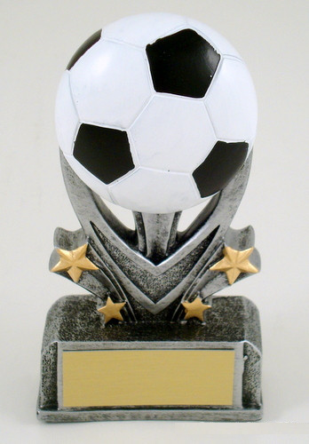 Soccer Sport Star Resin Trophy