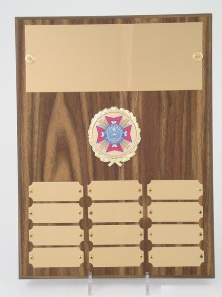 VFW Perpetual Plaque