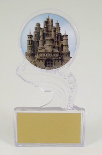 Sandcastle Small Crest of the Wave Trophy