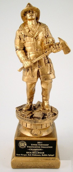 Firefighter Tribute Statue-Trophies-Schoppy's Since 1921