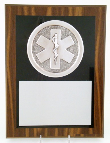 "Star of Life Plaque 9"" x 12""-Plaque-Schoppy's Since 1921"