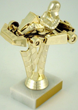 Go-Kart Trophy on Marble Base-Trophies-Schoppy's Since 1921