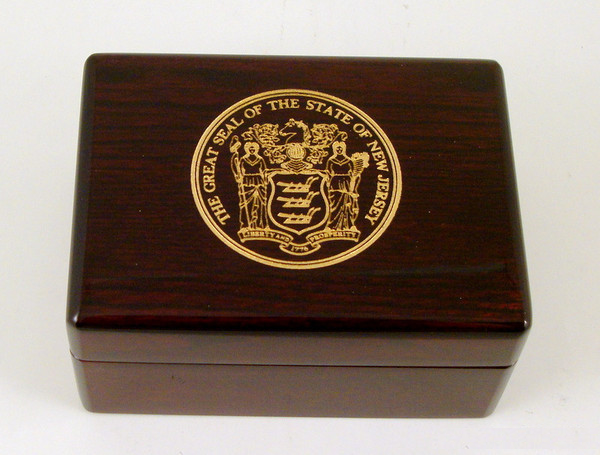 Great State of New Jersey Seal Box
