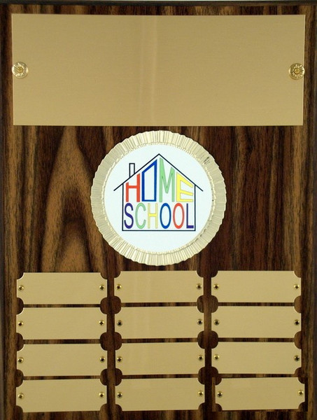 Home School Perpetual Plaque-Plaque-Schoppy's Since 1921