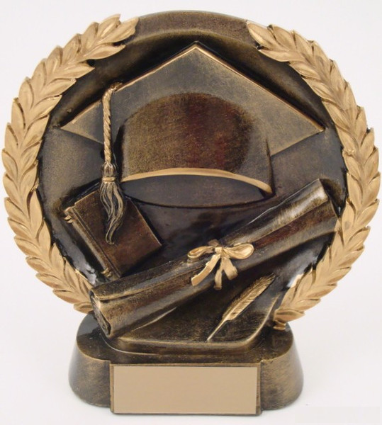Graduation Resin Trophy-Trophies-Schoppy's Since 1921