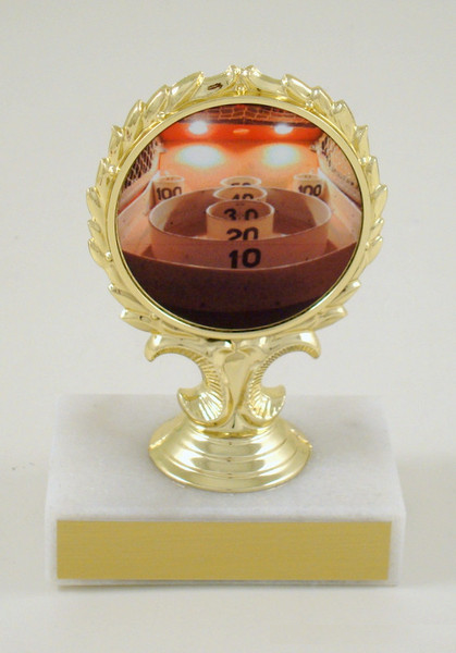 Skee Ball Logo Trophy Small-Trophy-Schoppy's Since 1921