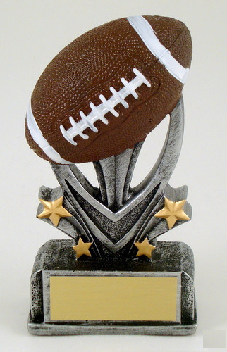 Football Sport Star Resin Trophy-Trophies-Schoppy's Since 1921