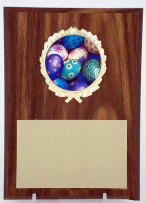 5x7 Plaque with Easter Logo