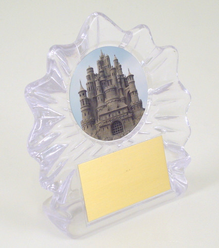 Sandcastle Small Flame Trophy