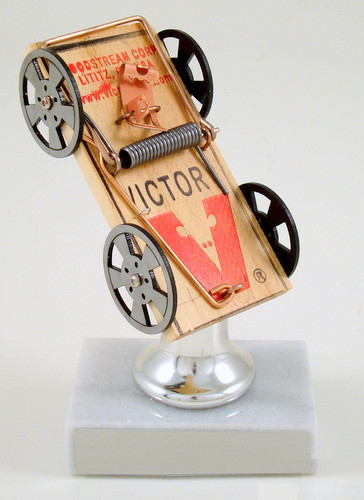 Mouse Trap Racing on Silver Bell Riser Trophy