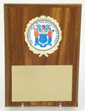 The Great Seal of New Jersey 4x6 Plaque-Plaque-Schoppy's Since 1921