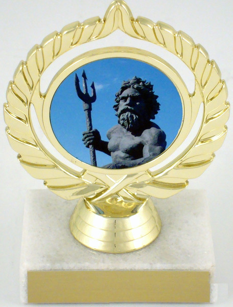 Trophy with King Neptune Logo-Trophies-Schoppy's Since 1921