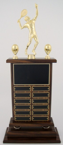 Tennis Perpetual Trophy SPT-Tennis-Trophies-Schoppy's Since 1921