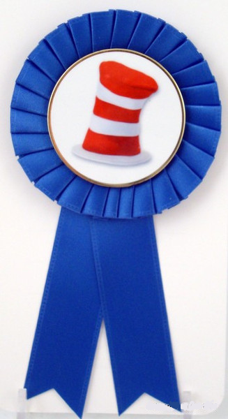 Small Rosette Ribbons -  Hat Logo