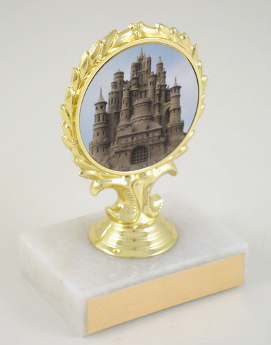 Sandcastle Small Logo Trophy
