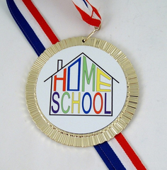 Home School Big Medal-Medals-Schoppy's Since 1921