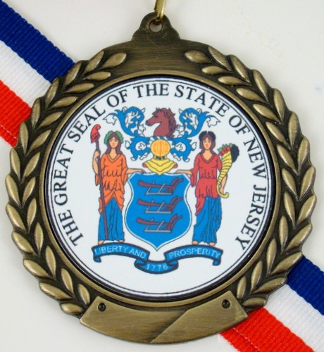 The Great Seal of New Jersey Medal-Medals-Schoppy's Since 1921