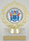 The Great Seal of New Jersey Trophy-Trophies-Schoppy's Since 1921