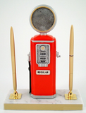Logo Gas Pump with Double Pen-Trophies-Schoppy's Since 1921