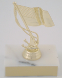 U.S. Flag Trophy-Trophies-Schoppy's Since 1921