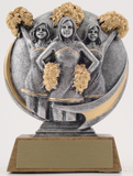 Motion Extreme Trophy - Female Cheerleaders-Trophies-Schoppy's Since 1921