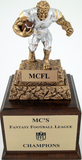 Fantasy Football Monster Trophy - Perpetual FF3-Trophies-Schoppy's Since 1921