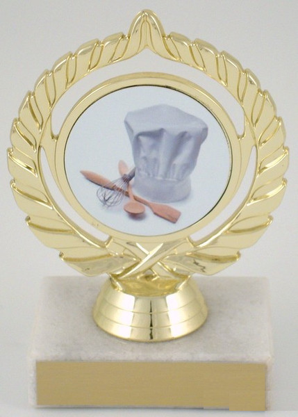 Culinary Logo Trophy