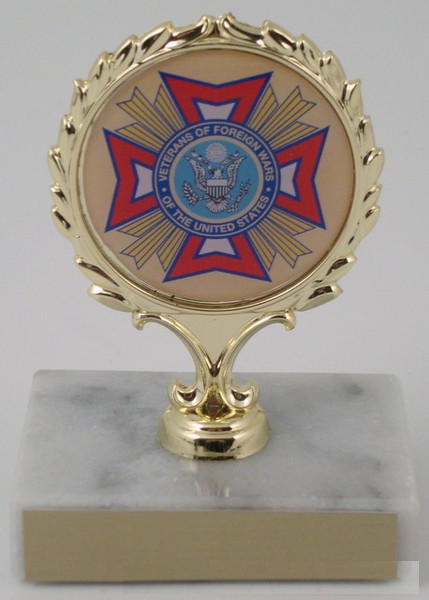VFW Logo Trophy-Trophies-Schoppy's Since 1921
