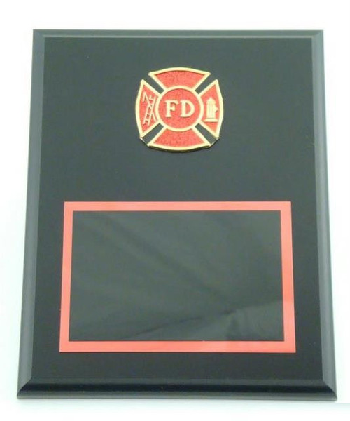 Fire Department Plaque with FD Logo