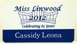 Pageant Name Badge - Metal-Name Tag-Schoppy's Since 1921