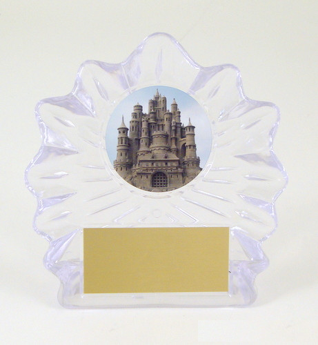 Sandcastle Large Flame Trophy