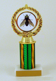 "Greenhead Logo Trophy on 3"" Column-Trophies-Schoppy's Since 1921"