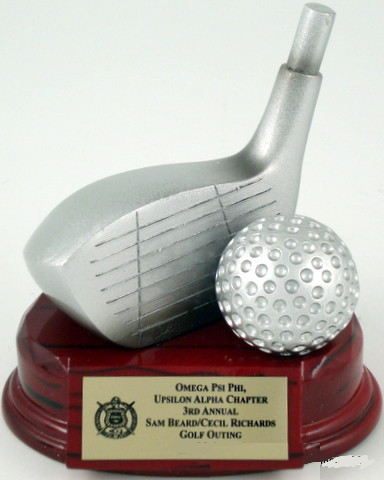 Golf Trophy Driver Resin