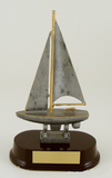 Sailboat Resin Trophy-Trophies-Schoppy's Since 1921