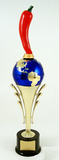 World's Greatest Chili Pepper Riser Trophy-Trophies-Schoppy's Since 1921