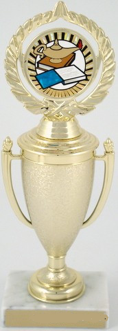 Lamp of Learning Cup Trophy