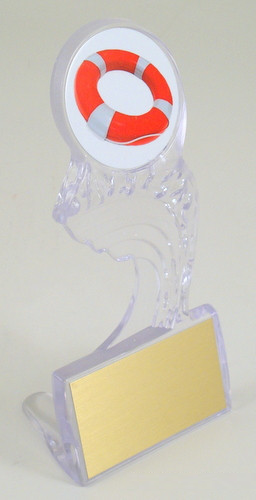 Lifeguard Large Crest of the Wave Trophy-Trophies-Schoppy's Since 1921