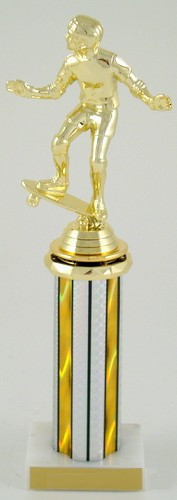 Skateboard Spinner Trophy-Trophies-Schoppy's Since 1921