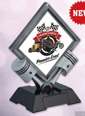 Motor Diamond Resin Trophy-Trophy-Schoppy's Since 1921