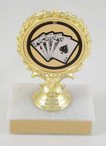Poker Graphic Trophy-Trophies-Schoppy's Since 1921