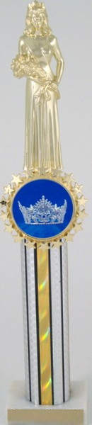 "Crown Logo Trophy 15""-Trophies-Schoppy's Since 1921"