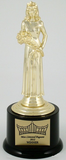 Pageant Round Base Trophy Large-Trophies-Schoppy's Since 1921