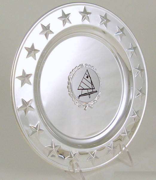 Sail Boat Logo Raised Star Tray
